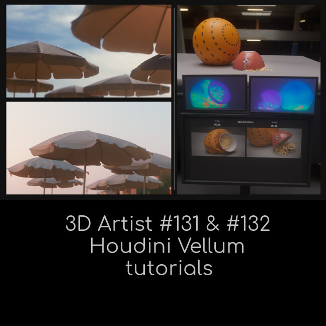 ArtStation - Learn Vellum - Tasting Menu, Greg Barta