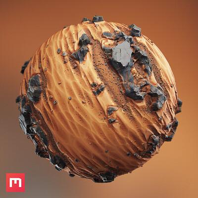 Wiktor ohman stylized desert thumb