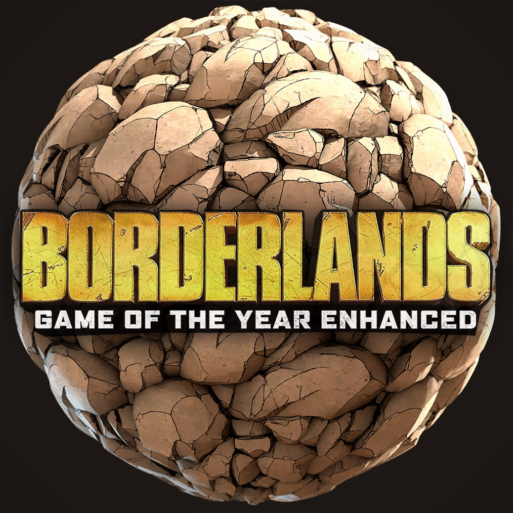 Borderlands: GOTY Enhanced - Rockface Tileable