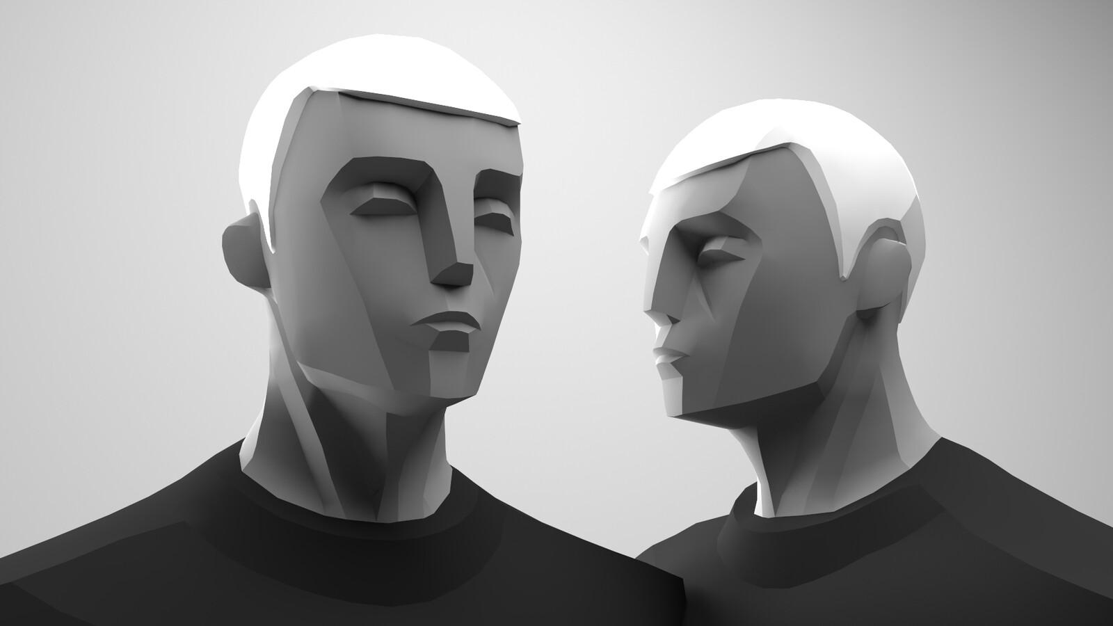 Perspectio - Main Character Look Development