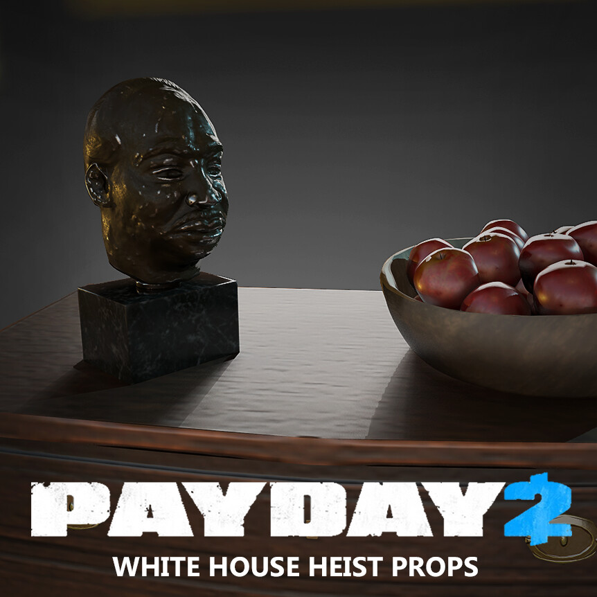 Payday 2 - Painting and Furniture Props