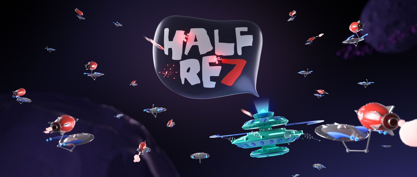 Half Rez 7 - Mothership Bumper