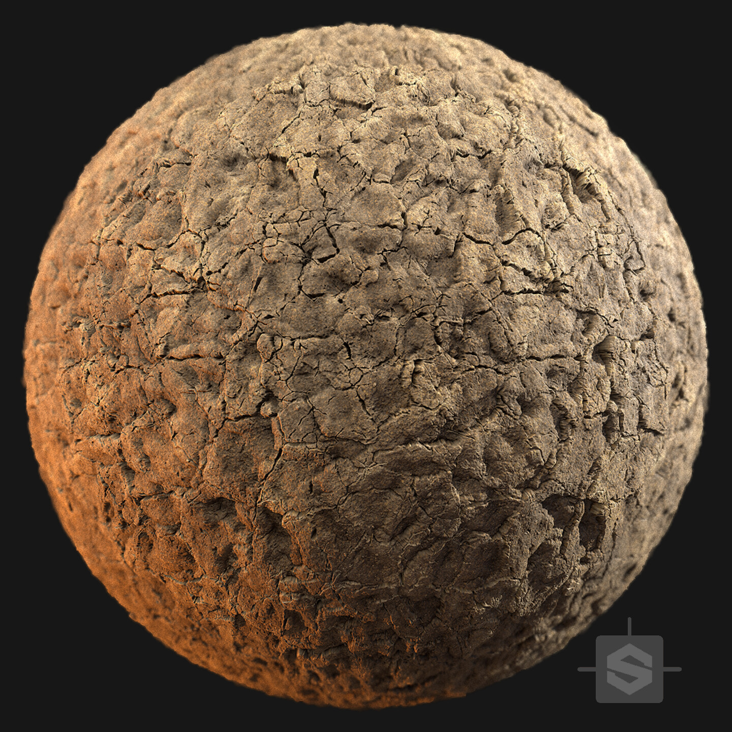 Substance Designer - Dried Mud