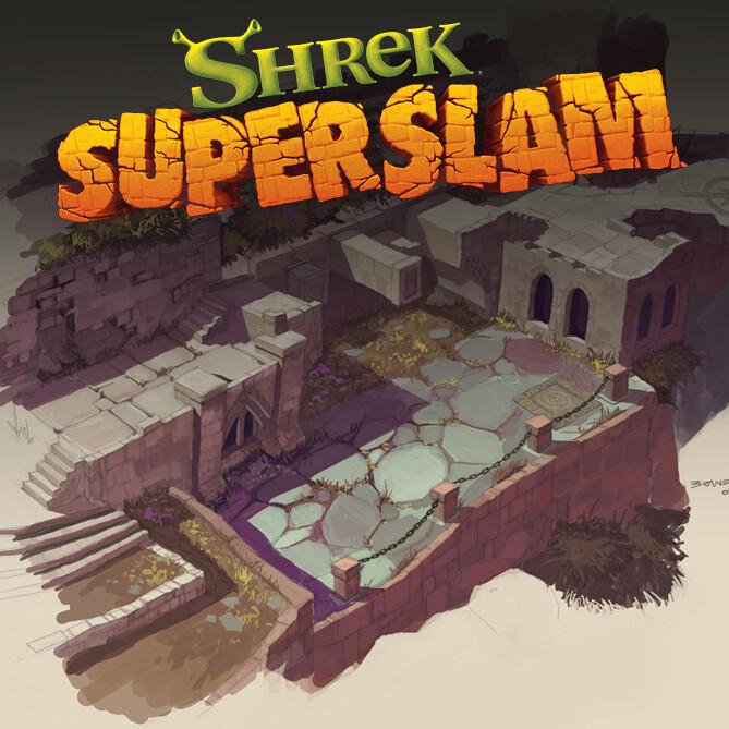 Shrek Superslam and Shrek the 3rd