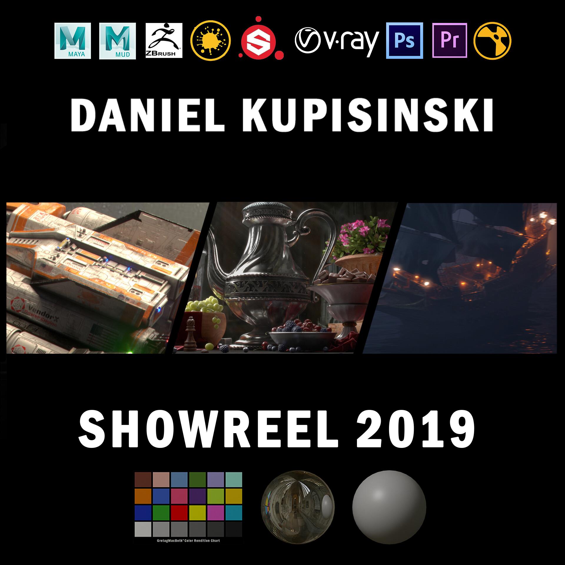 ArtStation - Daniel Kupisinski 2019 Student Showreel - Look