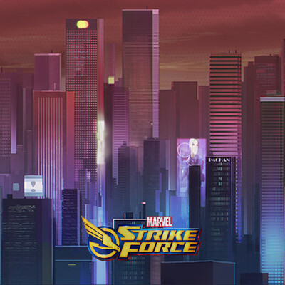 Spiderman Marvel Strike Force Background