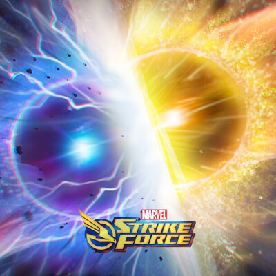 Marvel Strike Force Orbs Key art