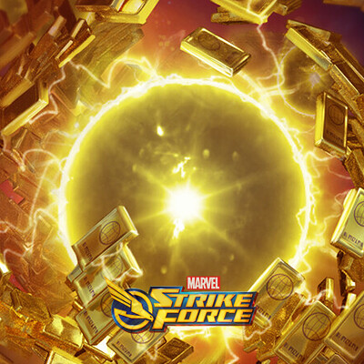 Marvel Strike Force Gold Key Art