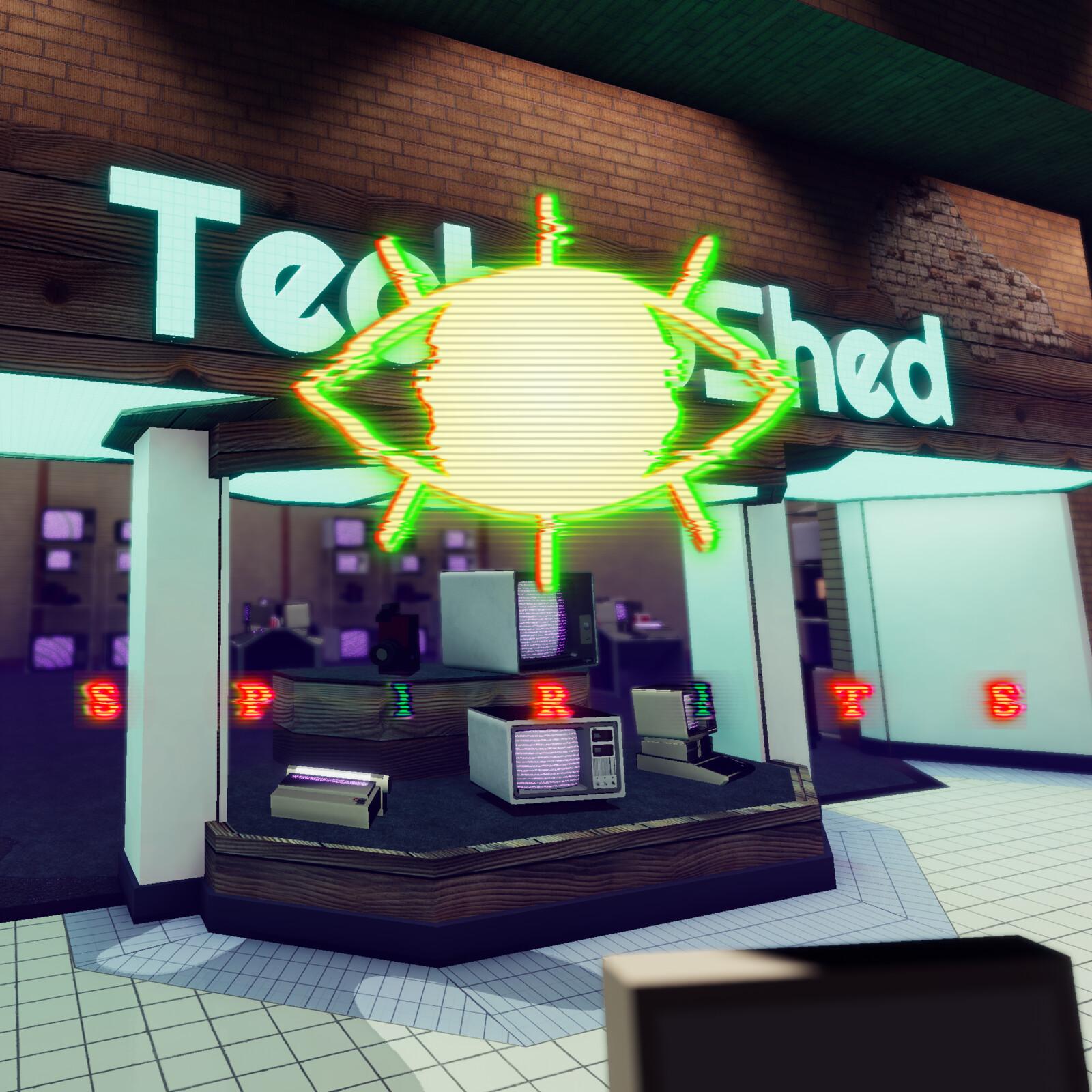 Spirits: TechnoShed