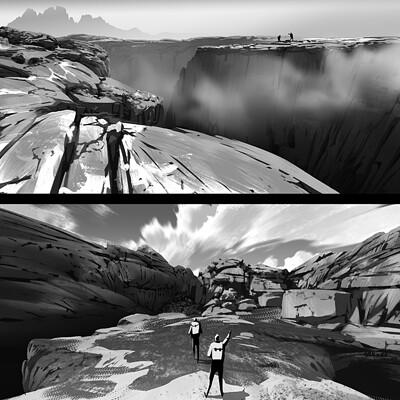 Lorenzo lanfranconi environment sketch faglia copia