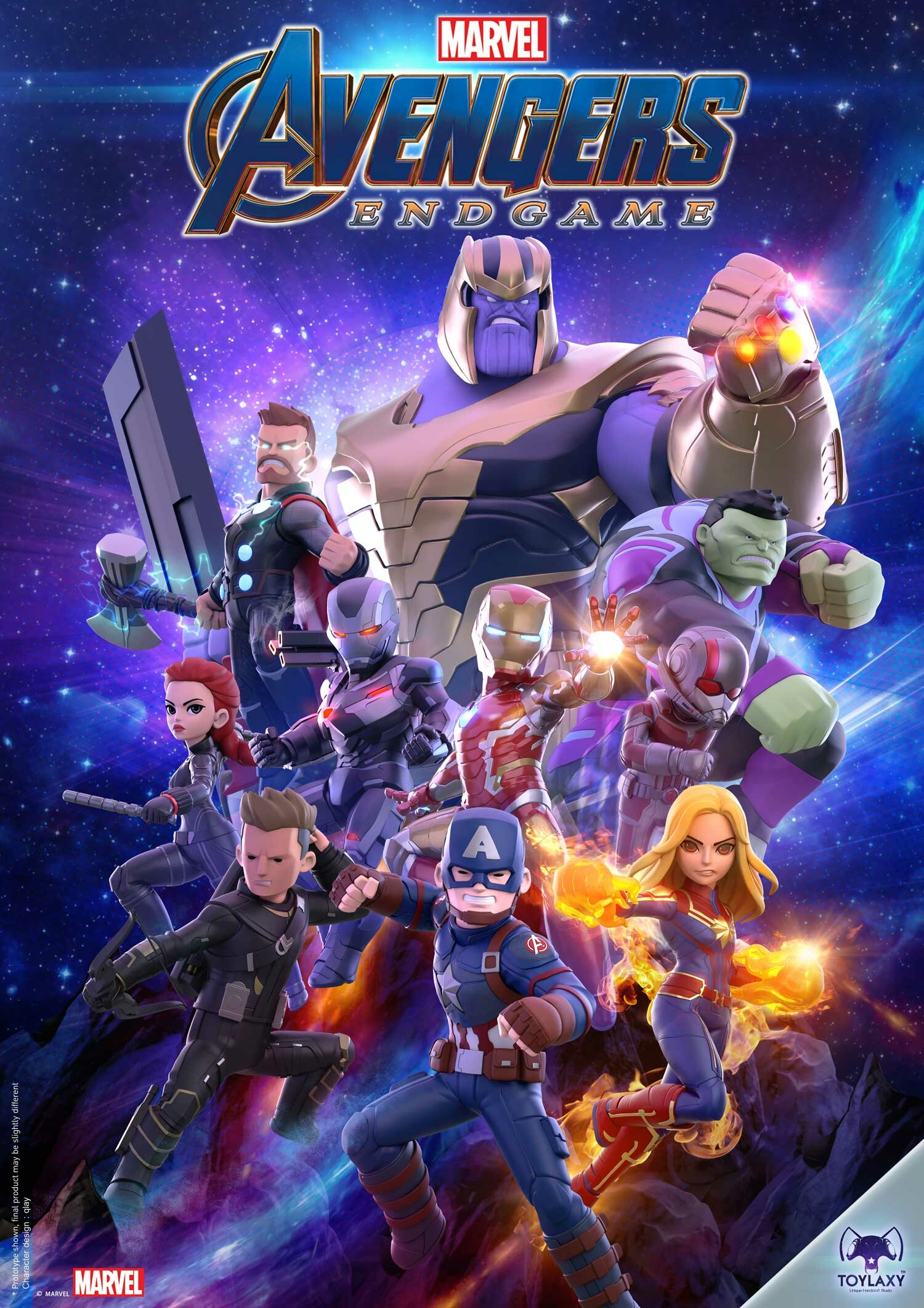 Artstation Avengers Endgame Rattasat Pinnate