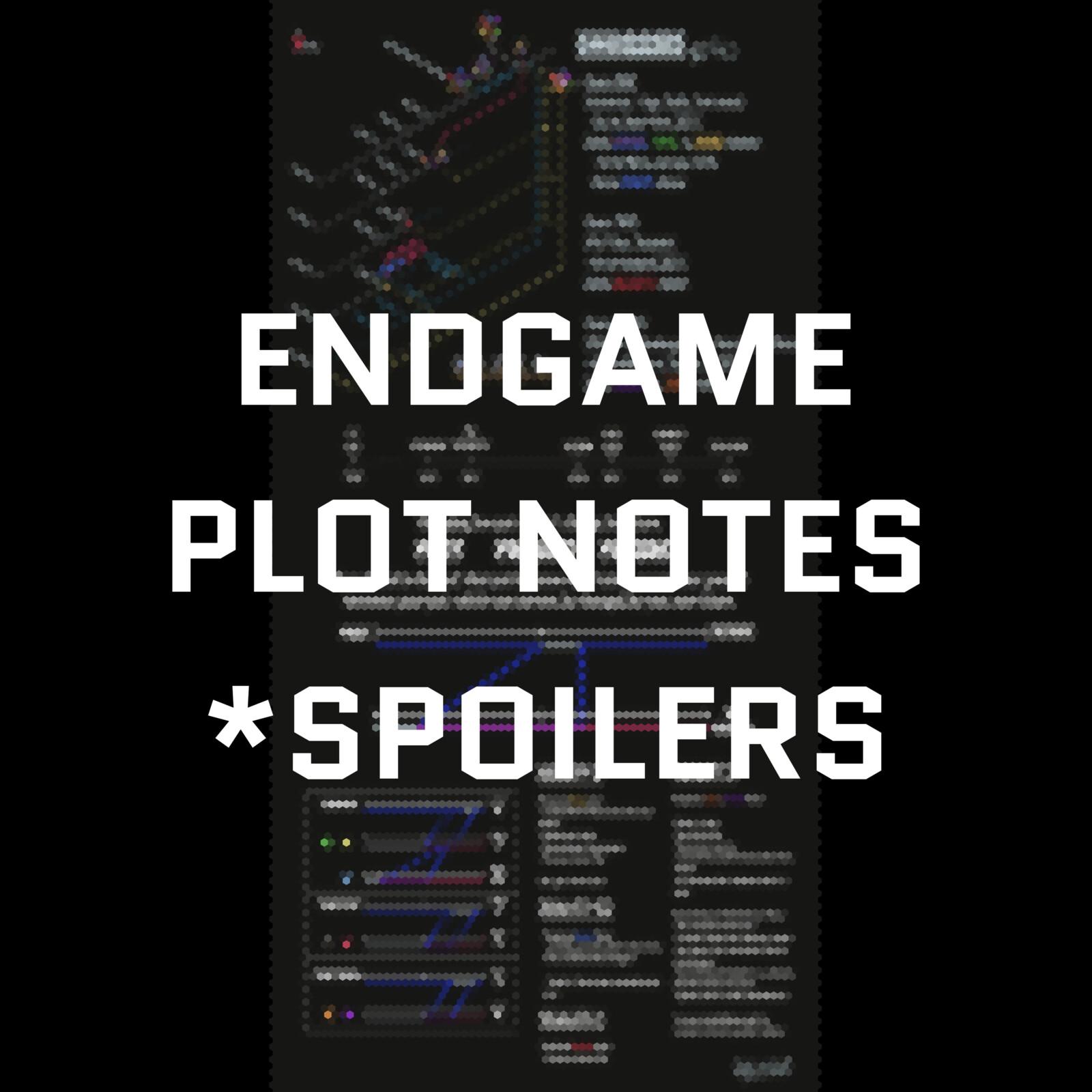 Endgame Infographic *spoilers inside