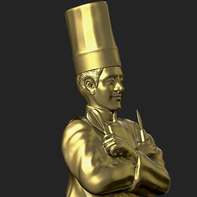 Eder lindorfe chef trophy detail