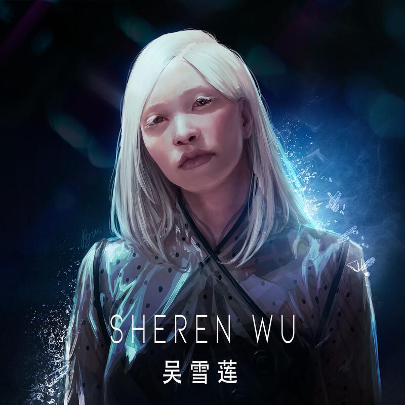 Sheren Wu   吴雪莲 - character design