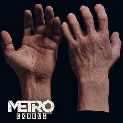 Oleg koreyba oleg koreyba hand metro exodus icon 2