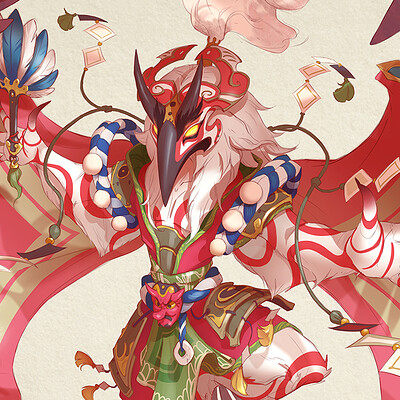 Kati sarin s kabuki artstation
