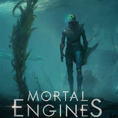 Mortal Engines - Shrike concept art