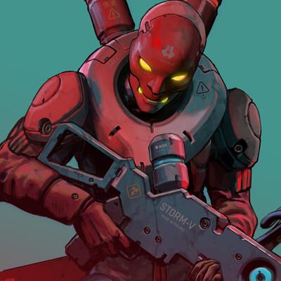 RUINER - Exo Mercenaries
