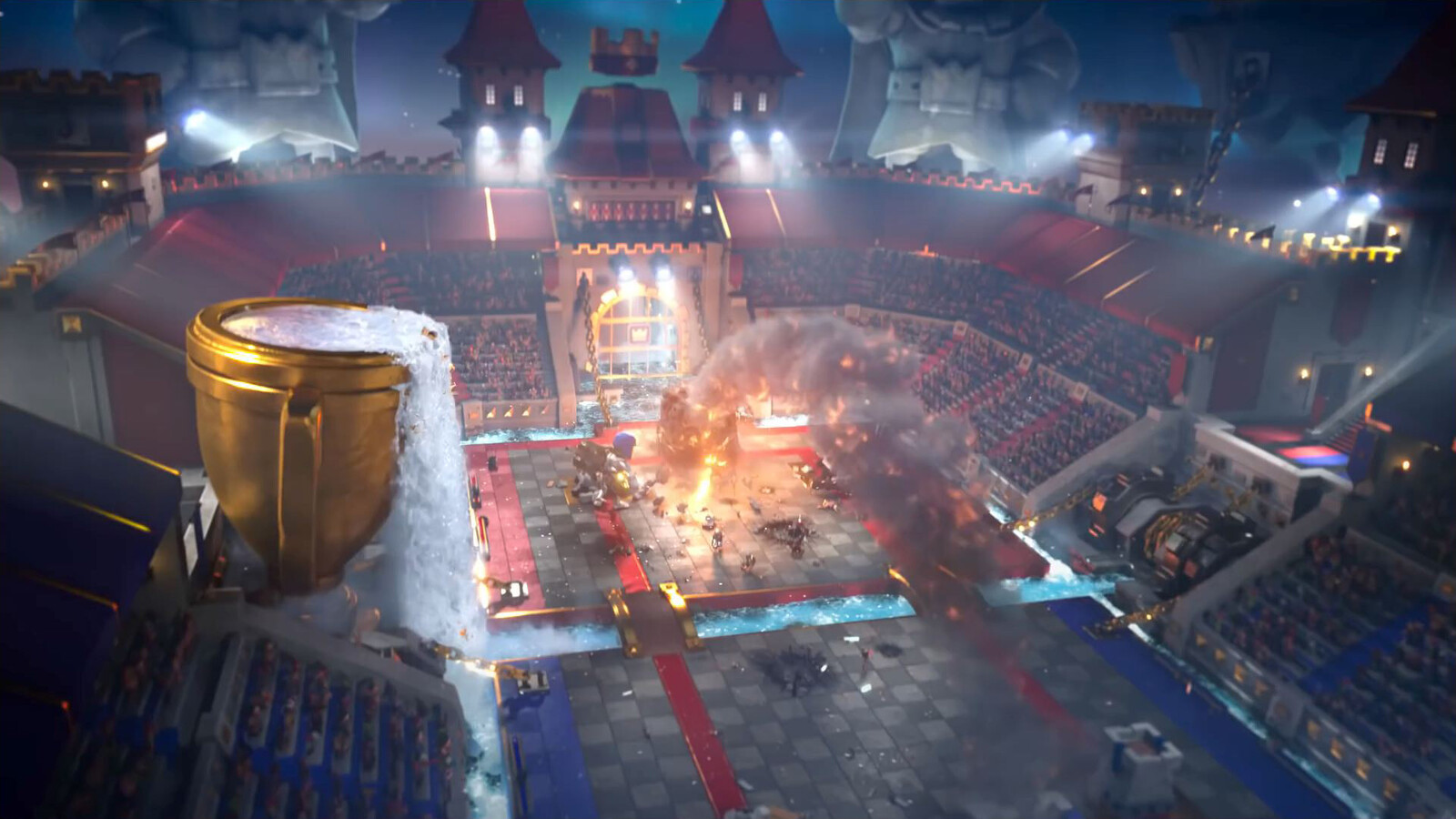 Clash Royal environments