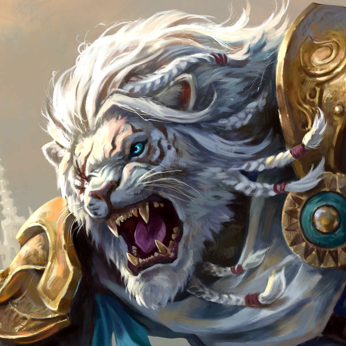 Ajani GoldMane | Fan Art Illustration