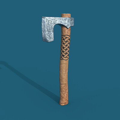 James skinner axe1 render1