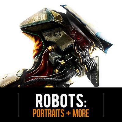 Josh matamoros portraits robots title