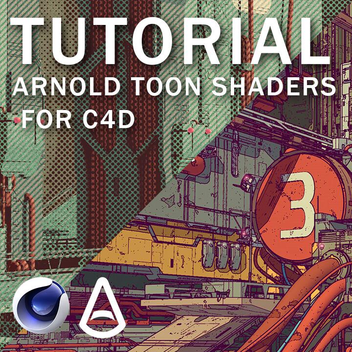 ArtStation - Complete Arnold Toon Shader Breakdown for