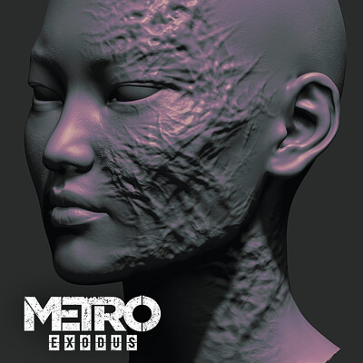 Oleg koreyba oleg koreyba gul zbrush metro exodus icon 05
