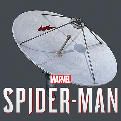 Rooftop Props - SpiderMan
