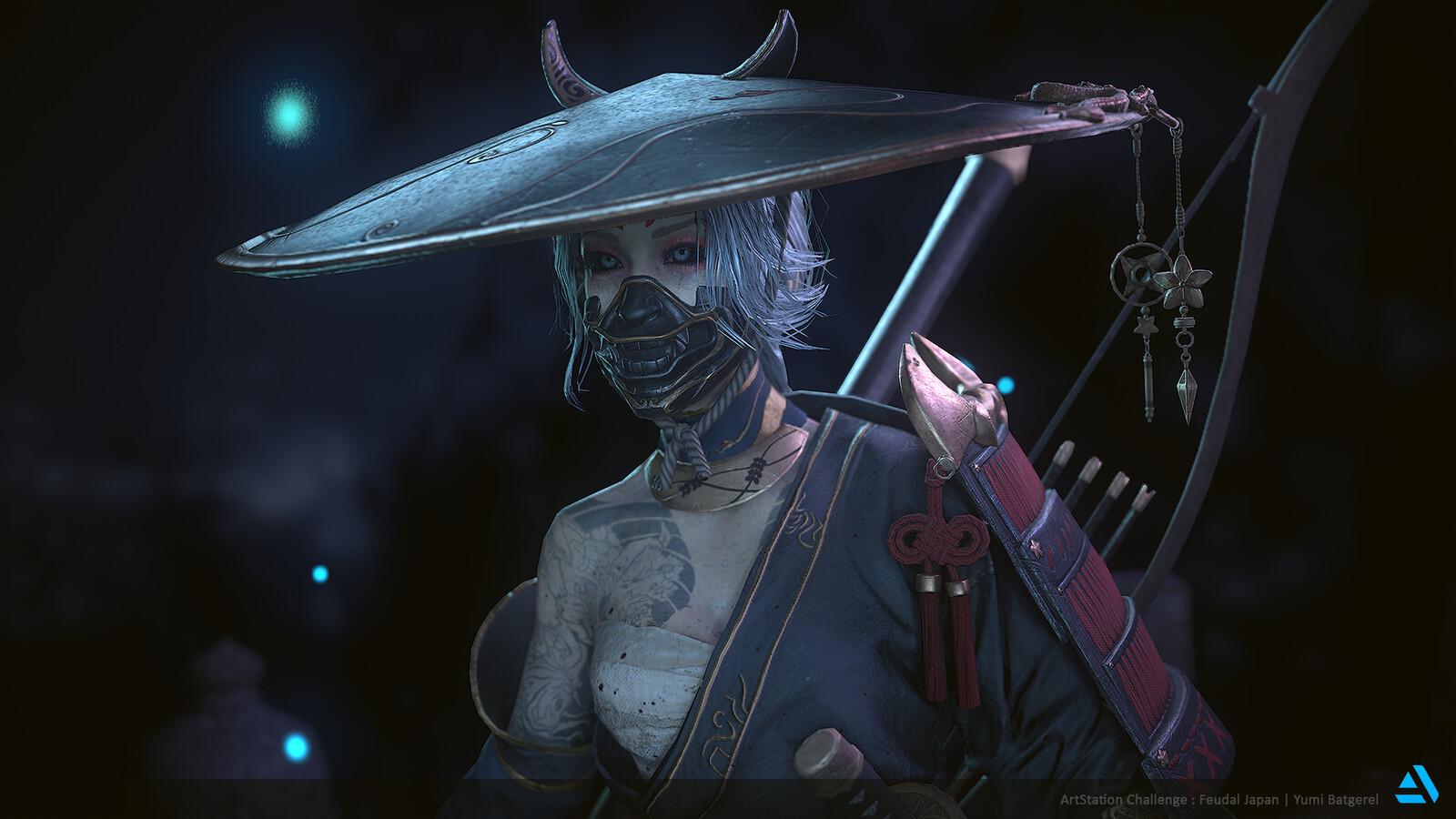 Feudal Japan: The Shogunate - Game Character Art (real-time)