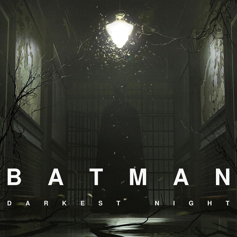 Batman: Darkest Night - Arkham Interior Concept