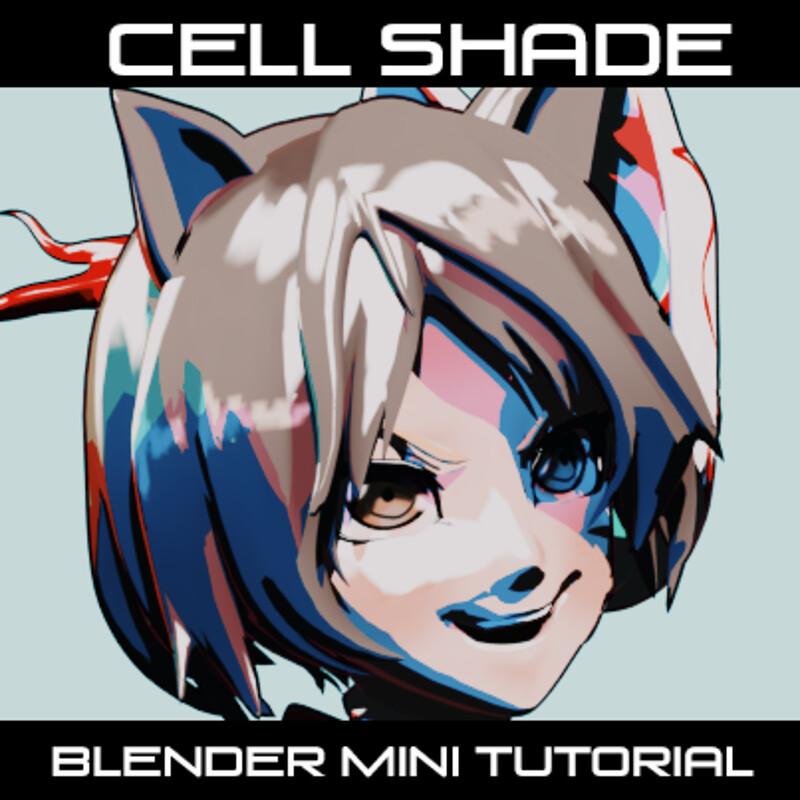 Blender Cell Shading Mini-Tutorial