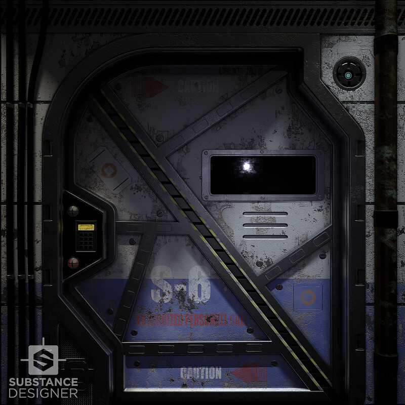 Substance Designer - Sector 6