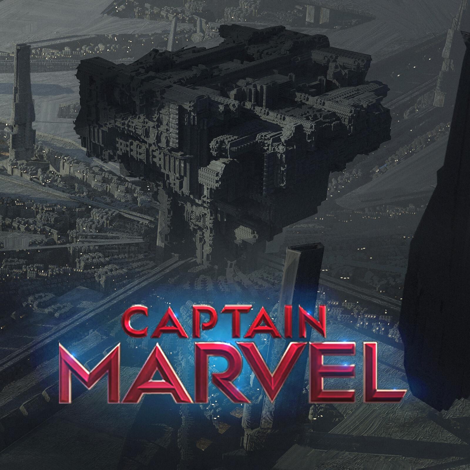 Captain Marvel Halacity / MARVEL Machine