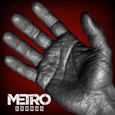 Oleg koreyba npc hud hand metro exodus 4agames by oleg koreyba zb sculpt icon 01