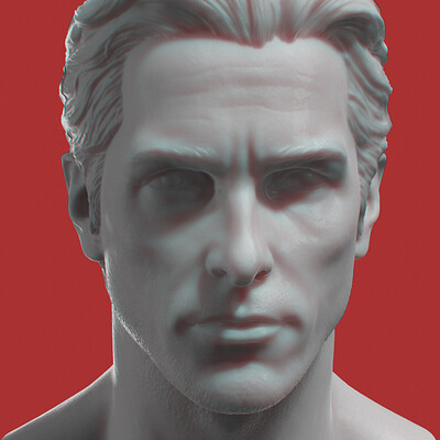 Christian Bale - 3D Printed