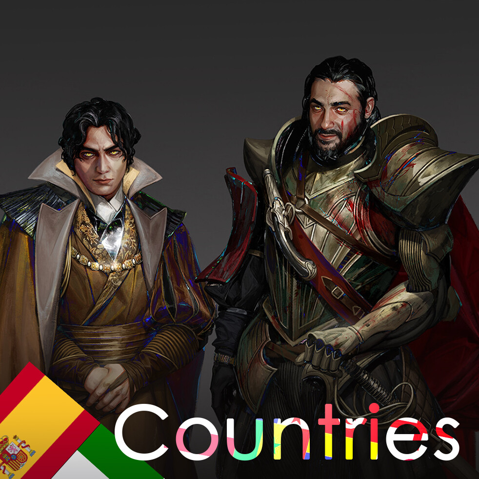 Counties: Italy/Spain