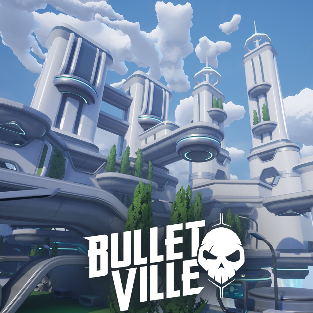 BulletVille - Sky City Map