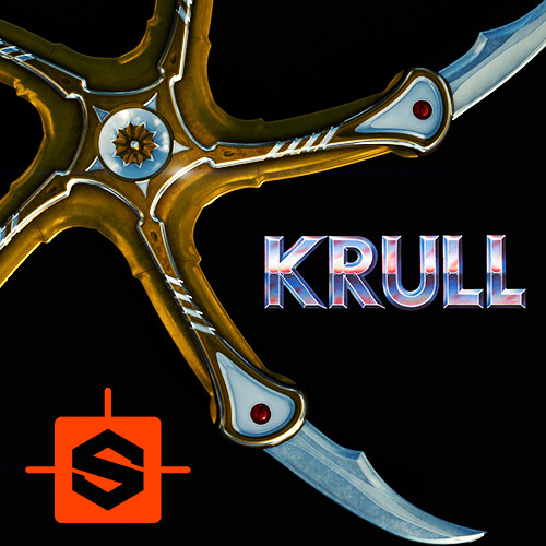 Krull Glaive Substance doodle