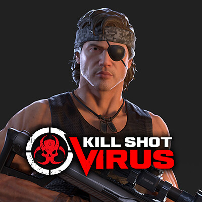 Avatar Gear for the mobile game Kill Shot: Virus