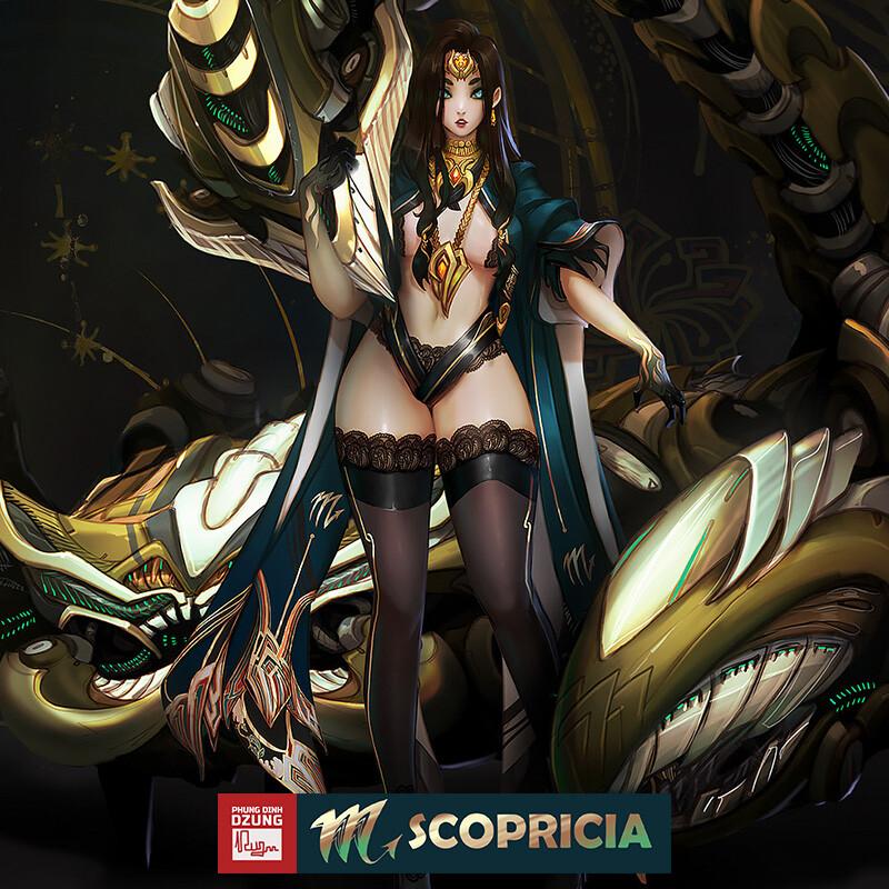 Scoprisia - Mecka beast