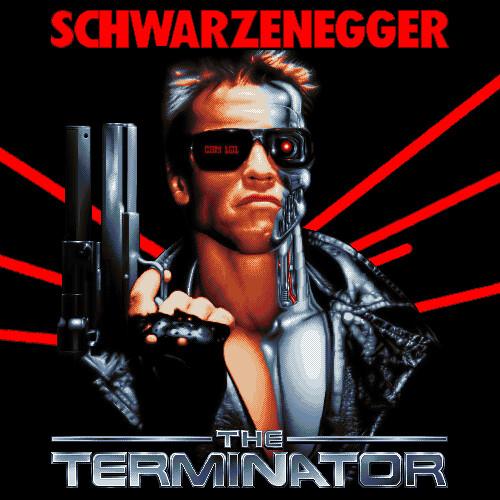 Terminator Pixel Art