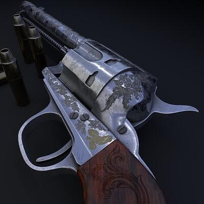 Joshua james wardle revolver