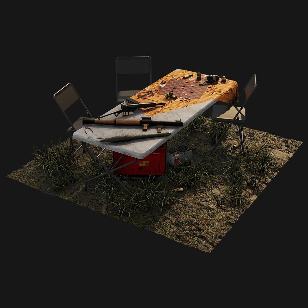 Urban Apocalypse Makeshift Camp