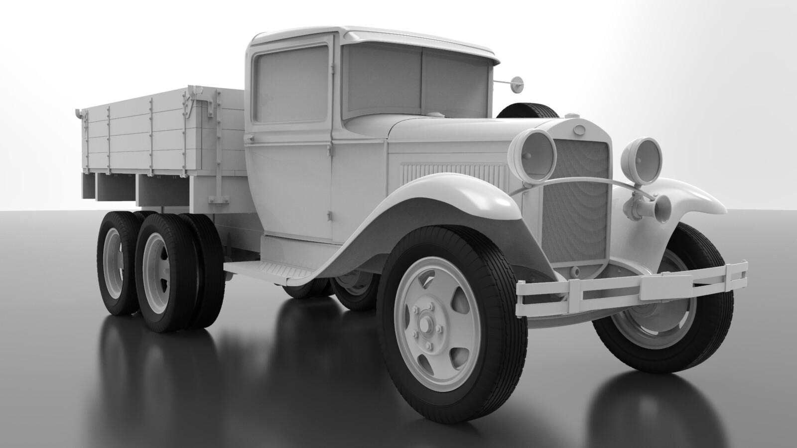 GAZ AAA Model