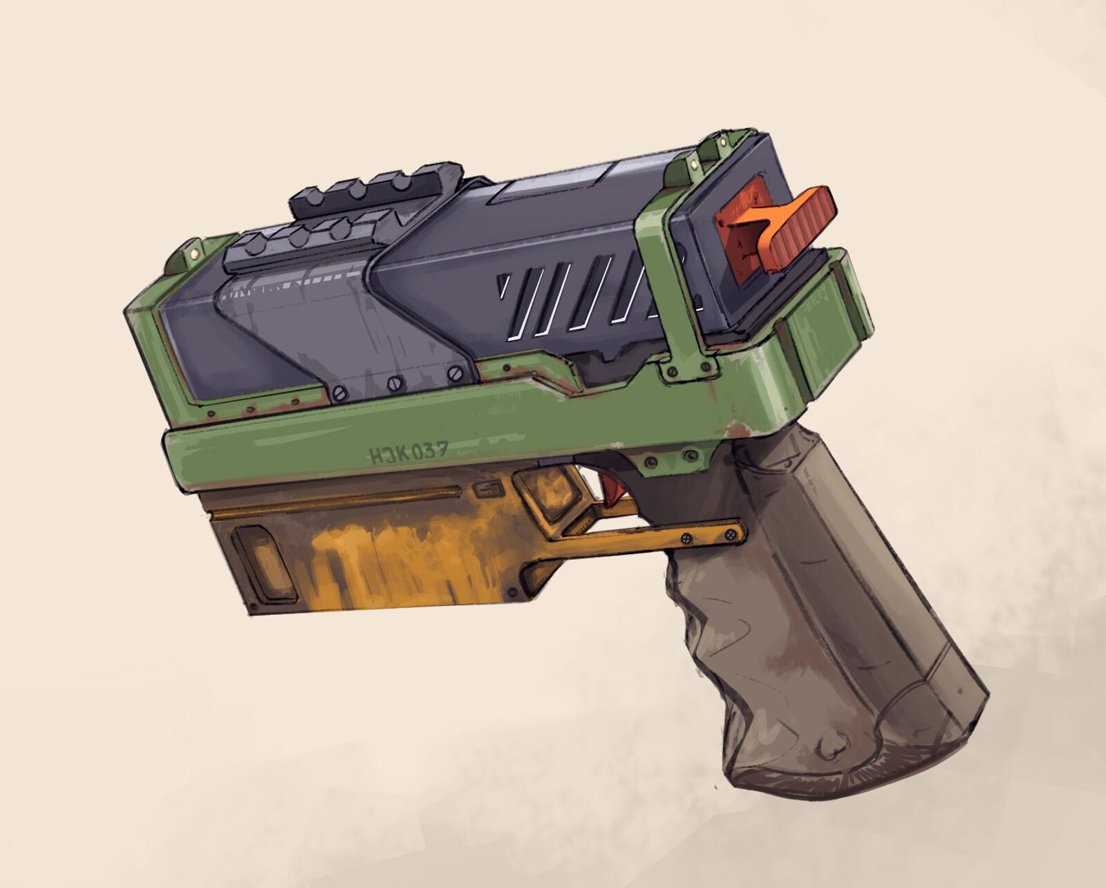 Sidearm Pistol Concept