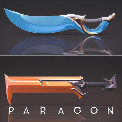 Mark van haitsma paragon weapons icon