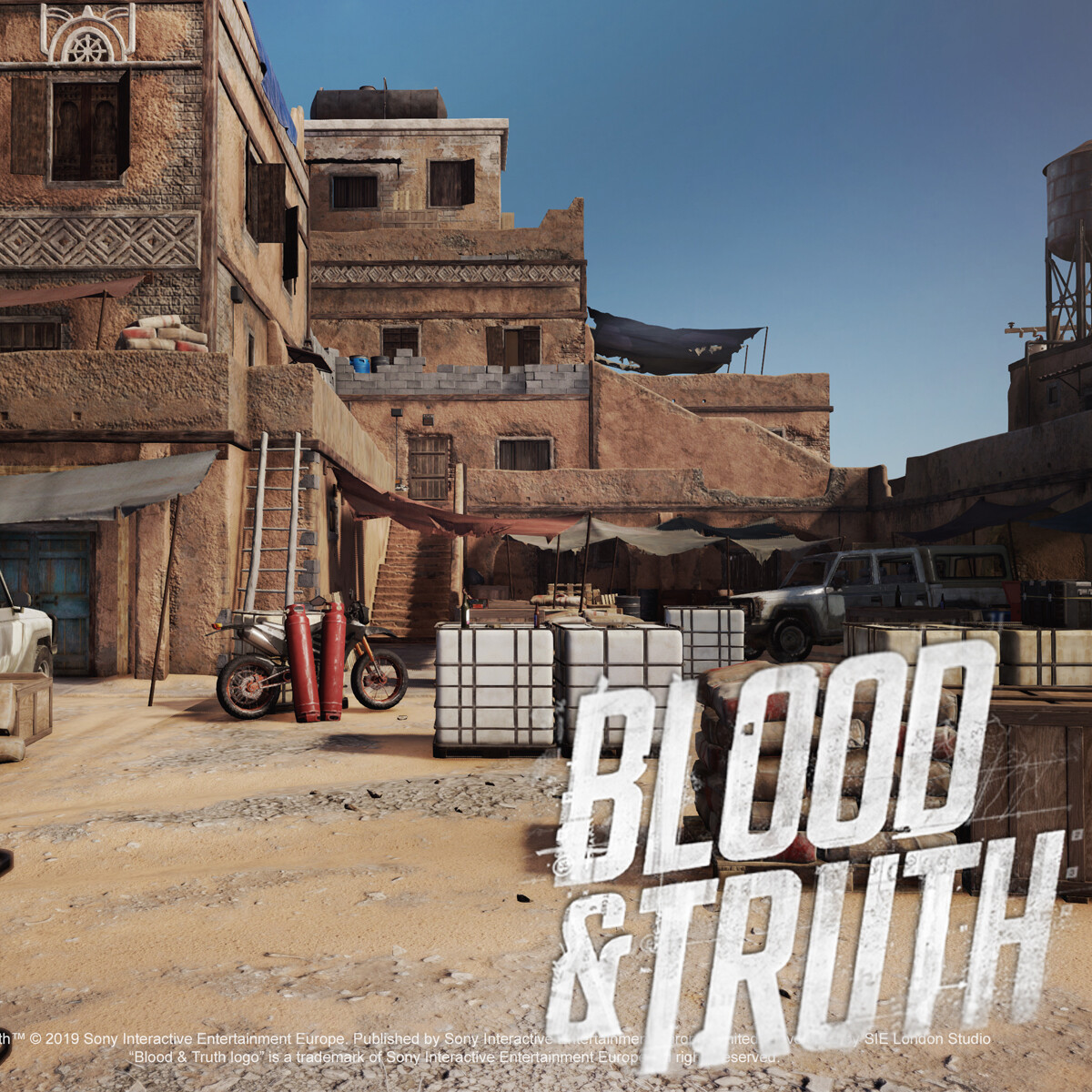 Blood & Truth - Failed State Exterior