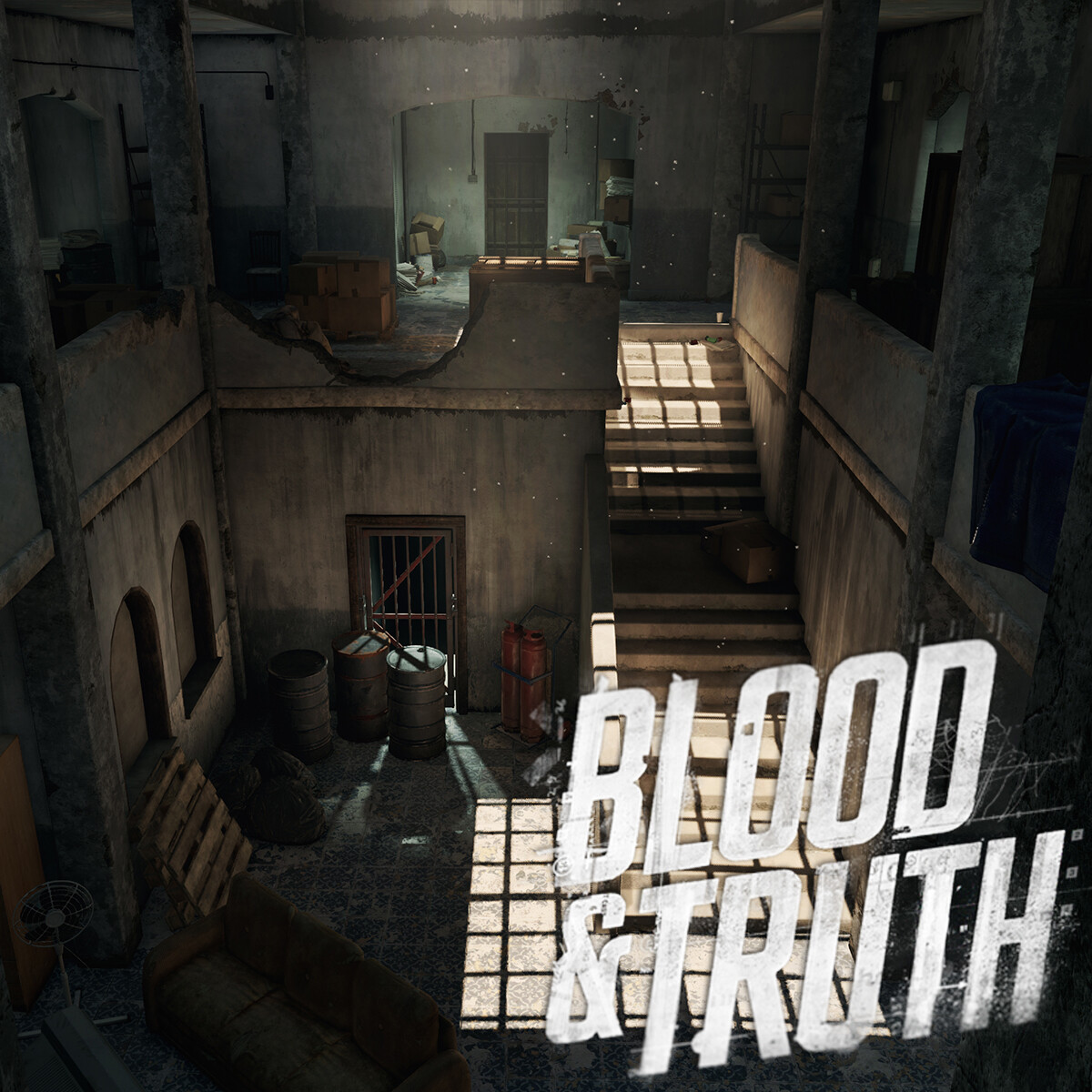 Blood & Truth - Failed State Interior