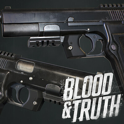 Blood and Truth : 9MM Weapon